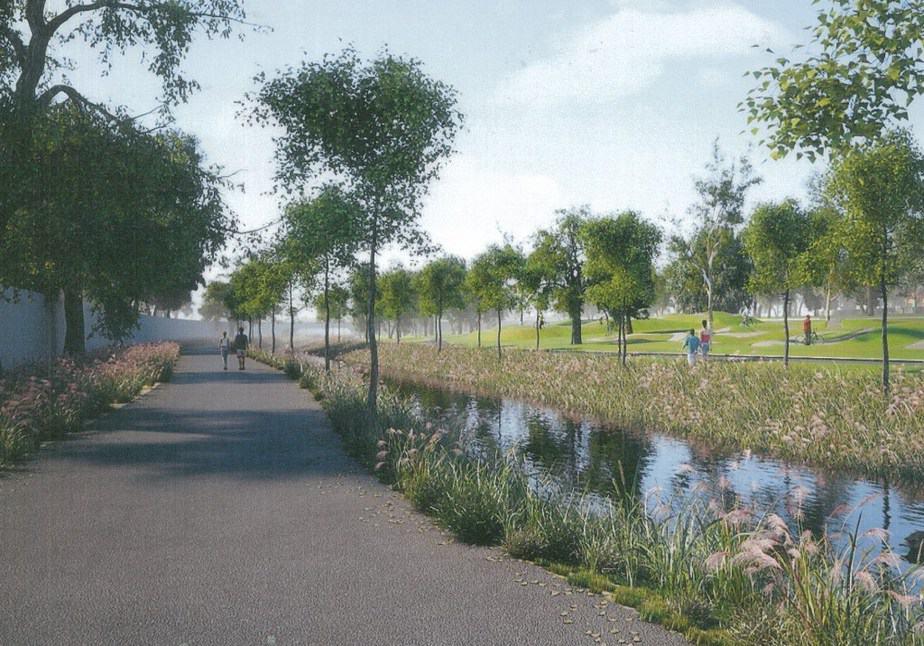 פארק הנחל בשלומי | הדמיה: באדיבות המועצה המקומית