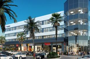 מרכז עסקים חדש (הדמייה באדיבות כורדני)
