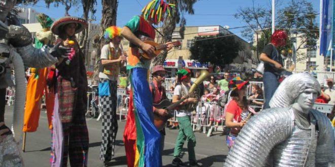 פסטיבל במקום תהלוכה עדלאידע בנהריה  צילום: תאיר פז