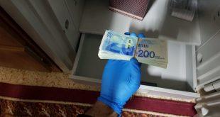 המעבדה לזיוף הכסף שנתפסה בדלית אל כרמל. צילום: משטרת ישראל