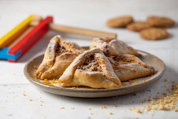 אוזני המן במילוי עוגיות חמאה | צילום איתן וקסמן