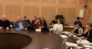דוידוביץ בדיון ועדת הכספים של הכנסת 25.3.19 (צילום: דוברות מטה אשר)