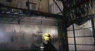 הושגה שליטה באירוע שריפה בעפולה (צילום דוברות כבאות והצלה)