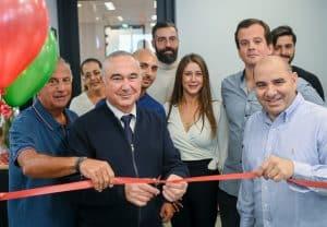 סגן ראש העיריה אלי דלל בפתיחת פורטוגליס צילום יניב כהן