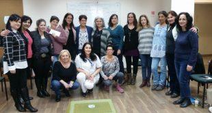 משתתפות קורס של אחיות ליווי רוחני. צילום: דוברות כללית
