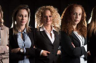 מימין לשמאל: הילה רובין שלם, עדי שושני, שיראל בר, סופי נקש ואדוה בלמס | צילומים: דורון גולן