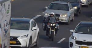 פעילות של משטרת התנועה. צילום: דוברות המשטרה