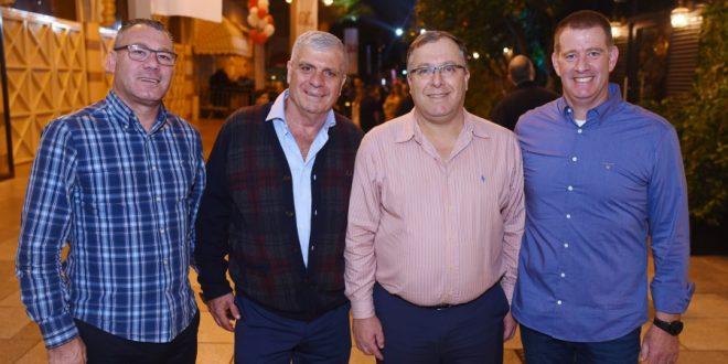 מימין: גיא קרן, אלי דוקורסקי, אבי לוי וליאור טרגן | צילום: דור אהרון
