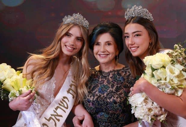 מימין: מלכת היופי שרלין סלע, מרים נופך מוזס ואוליאנה פרידריך | צילום: אביגיל עוזי