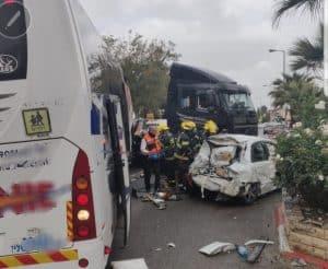 תאונת דרכים | צילום: דוברות כבאות והצלה