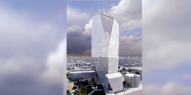 בנין העיריה הדמיה משרד אשכולות אדריכלים יהלום