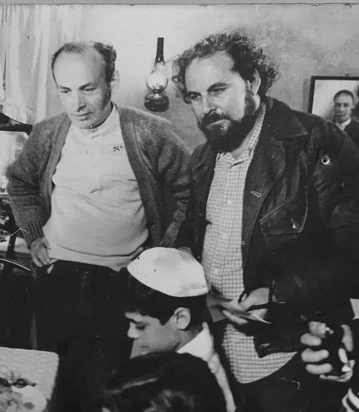 """עם הבמאי חיים שירן על הסט של """"שכונת חיים"""""""
