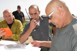 בדיקת שוהים בלתי חוקיים (צילום: מועצת חוף הכרמל)