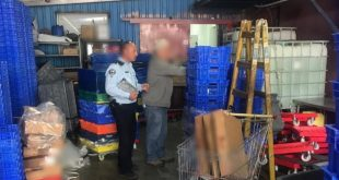 בשר לא ראוי בכרמיאל צילום משטרת ישראל (1)