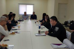ועדת היגוי לשיפור השירות. צילום: דוברות העירייה