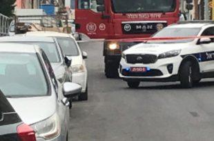 חפץ חשוד ברחוב המגל צילום משטרת ישראל