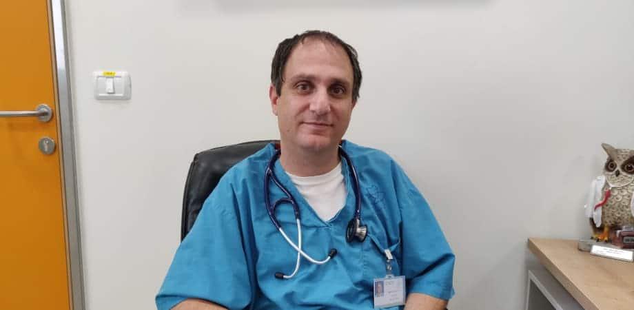 """יחידה חדשה. ד""""ר מועדי צילום: דוברות המרכז הרפואי"""