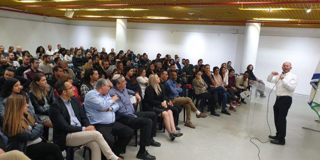 מלגות לסטודנטים בני עפולה (צילום דוברות העירייה)