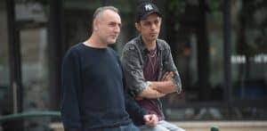 מני אסייג ומוחמד נעמה   צילום: דורון גולן