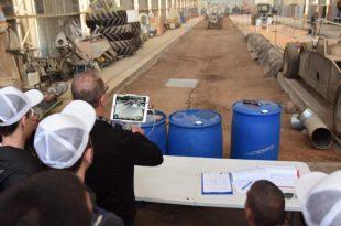 פותרים בעיות לחקלאים. צילום: דוברות רפאל