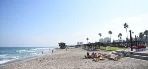 חוף קרית חיים   צילום: ניר בלזיצקי, דוברות עיריית חיפה