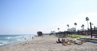 חוף נאות בקרית חיים (צילום: ניר בלזיצקי, דוברות עיריית חיפה)