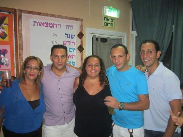 עם אמה ושלושת אחיה | צילום: עצמי