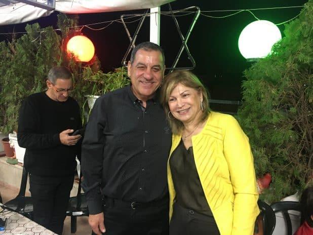 רחל ואורי דניאל   צילום: מיכל גילת