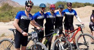 מקום ראשון. קבוצת רוכבי האופניים של מכללת בראודה