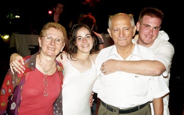 אופיר סבא אבי שרון סבתא רינה