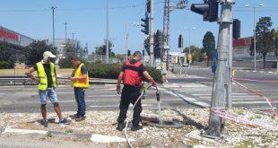דליפת גז במפרץ חיפה | צילום: המשרד להגנת הסביבה