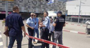 המשטרה חוקרת בשטח (צילום דוברות המשטרה)