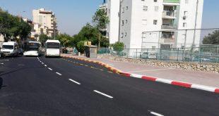 מהפכת הכבישים בנצרת עילית (צילום עצמי)