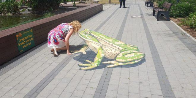 ציורים בתלת ממד | צילום: דוברות העירייה