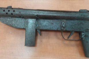 הנשק שנתפס בקרית חיים | צילום: דוברות המשטרה