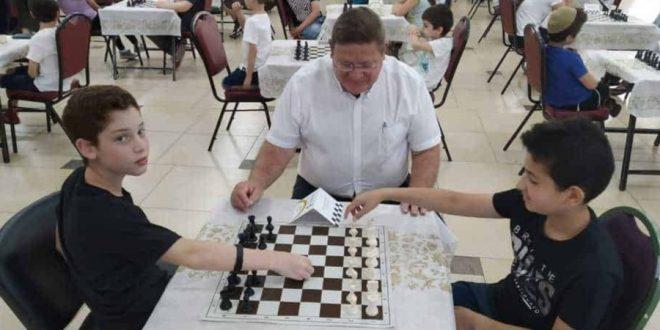 אליפות השחמט בקרית מחוצקין | צילום: דוברות העירייה