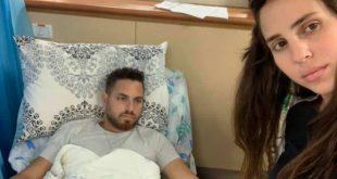צליל ודודי סויסה בבית החולים | צילום: עצמי
