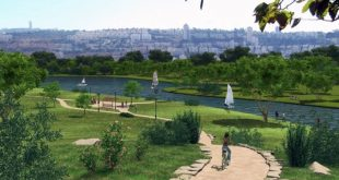 פארק מורד נחל הקישון | הדמיה: יעד אדריכלים, עבור רשות נחל הקישון