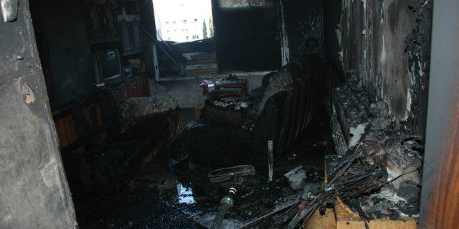 שריפת בית צילום דוברות כיבוי והצלה