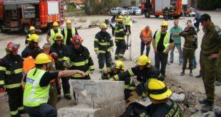 תרגיל | צילום ארכיון: מערך כיבוי אש חיפה