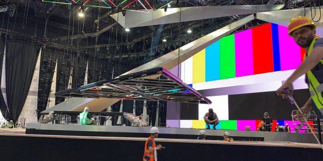 מתחם האירוויזיון בתל אביב. צילום: Eurofan