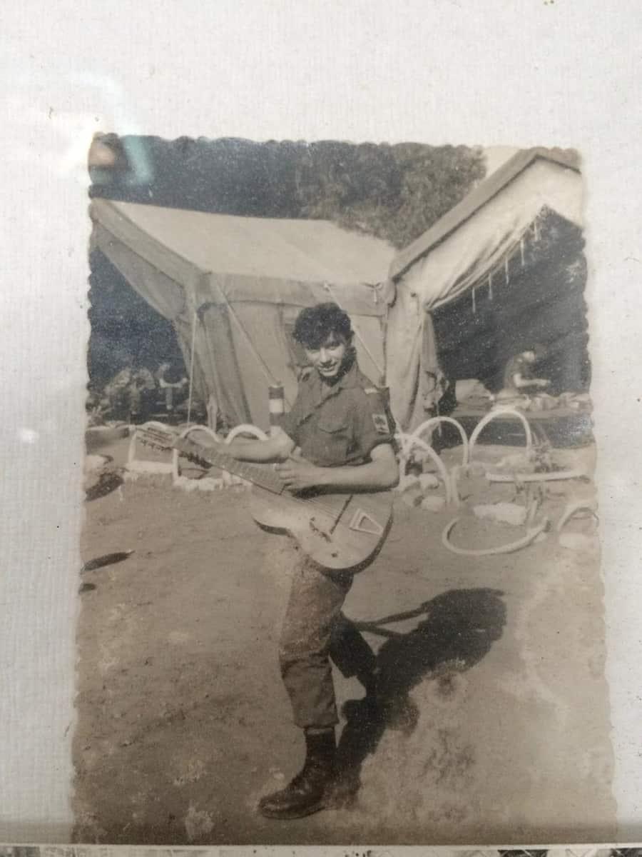 גרשון טרטנר בעת שירותו הצבאי