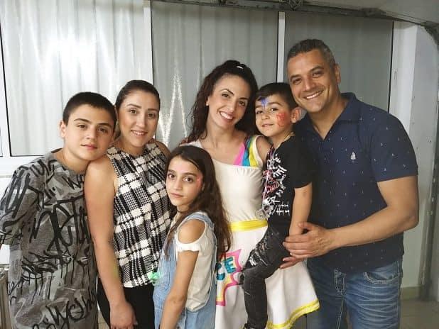 משפחת בונדר וההפתעה מיטל | צילום: עצמי