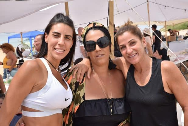 מיטל דיין, רויטל אבוקסיס ואמילי ורוגלו | צילום: סטודיו חשיפה
