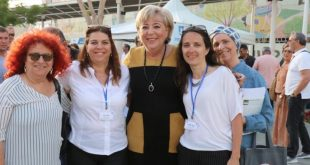 ראשת העיר באה לבקר צילום: דימה דורף