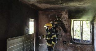השריפה בעפולה (צילום דוברות כבאות)