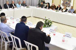 ישיבת מועצת עיר בקרית אתא | צילום: דוברות העירייה