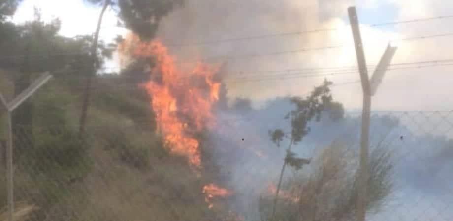 שריפה משתוללת | צילום ארכיון: דוברות-כבאות (1)