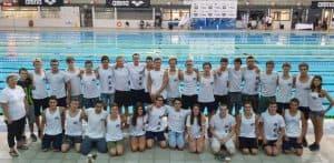 22 מדליות באליפות ישראל. מכבי קרית ביאליק | צילום: מכבי קרית ביאליק