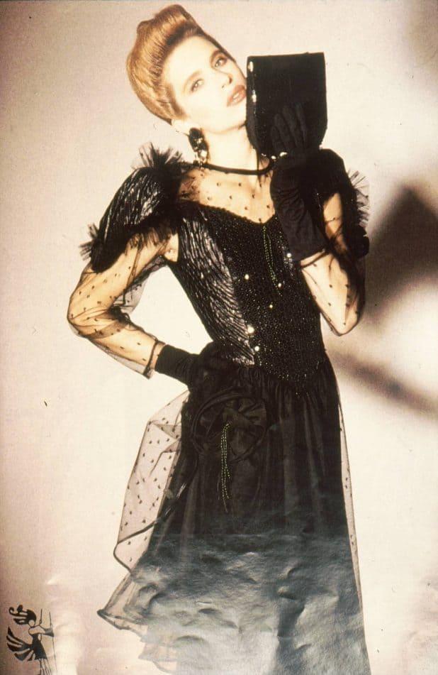 דוגמנית בשנות ה-80 | צילום: מנחם עוז